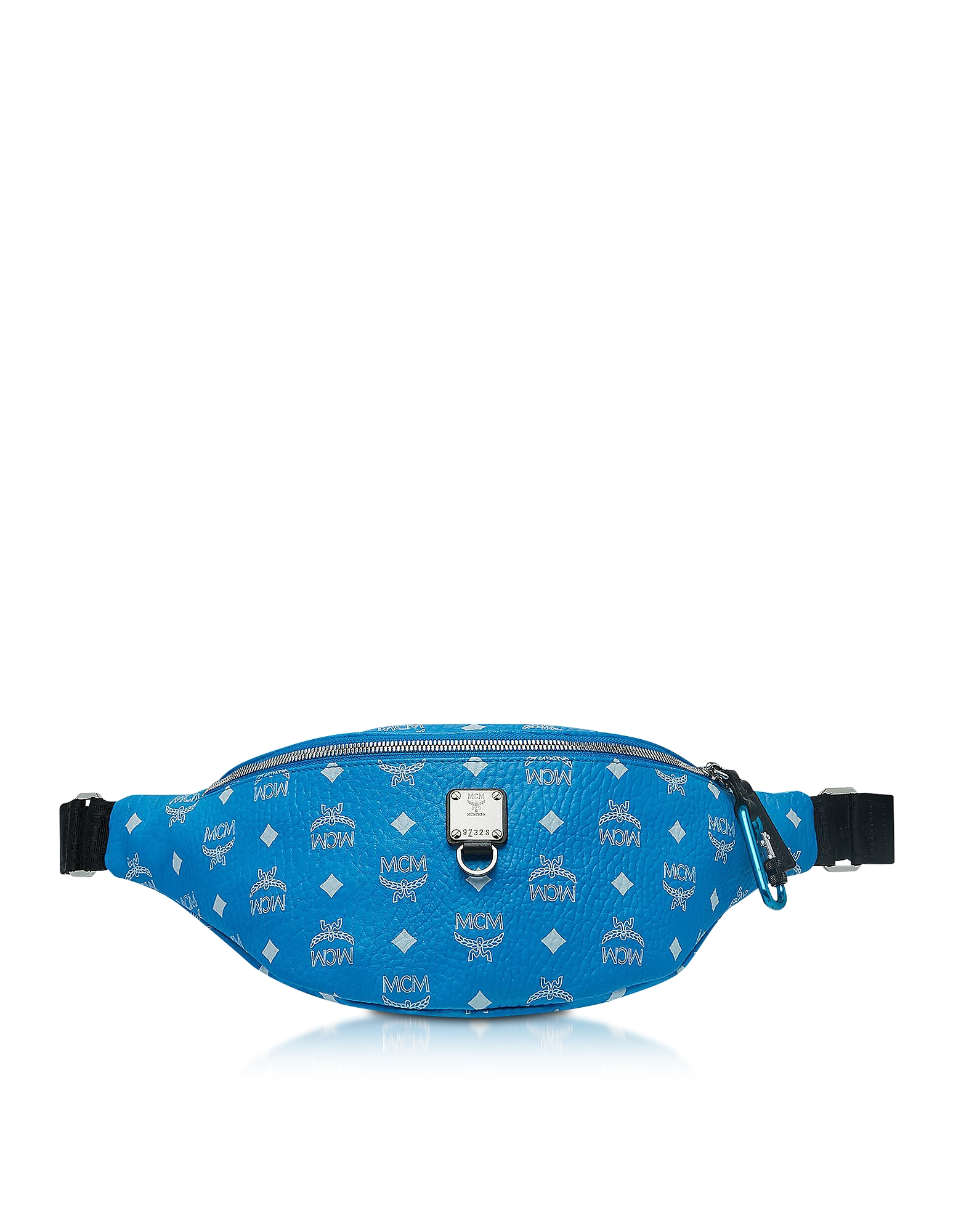 Blue Fursten Belt Bag w/White Logo Visetos