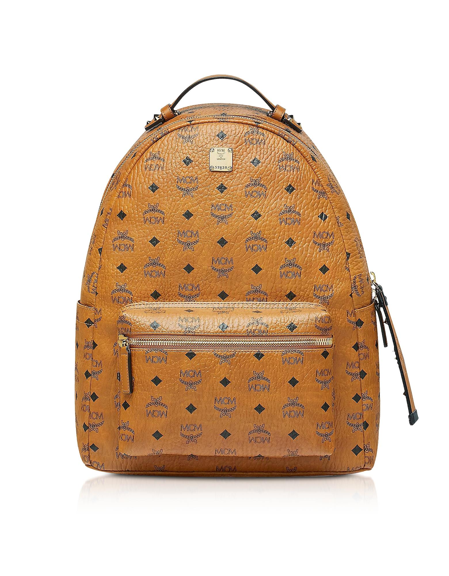 Cognac Visetos Stark Backpack