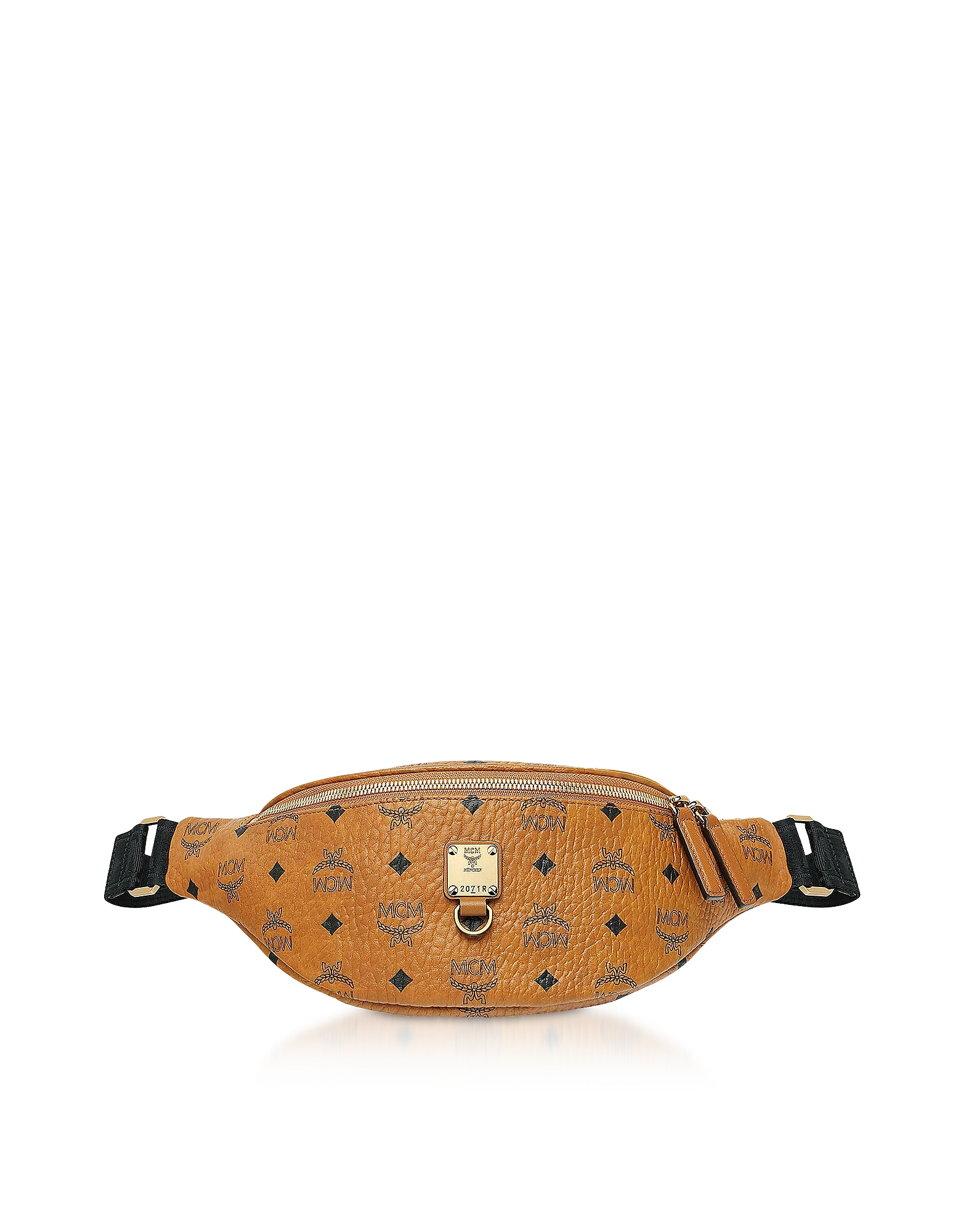 Small Cognac Visetos Fursten Belt Bag