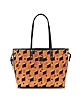 Shopper Project Diamond Land Reversible Cognac Tote - MCM