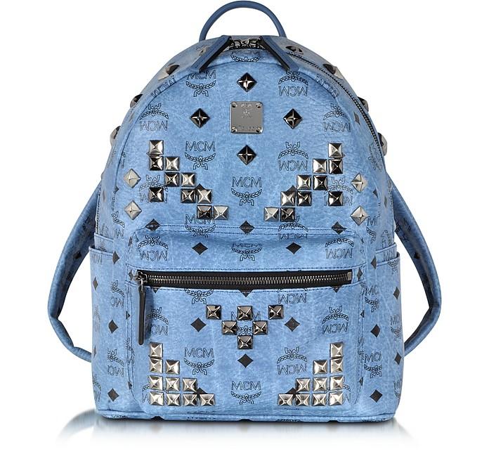 Small Stark Denim Backpack  - MCM