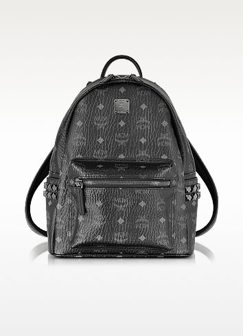 Stark Black Small Backpack - MCM