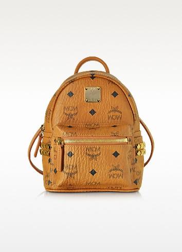 Stark Bebe Boo Cognac XMN Backpack - MCM
