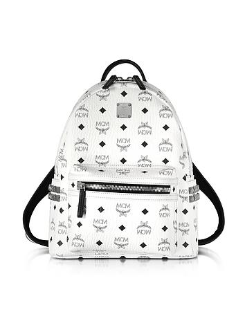 Stark White Small Backpack