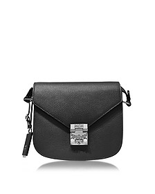 Patricia Park Avenue Black  Leather Small Shoulder Bag - MCM