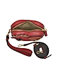 New Year Series Bolso Crossbody en Piel Roja - MCM