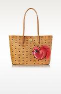 New Year Series Ew Medium Shopping Bag - MCM