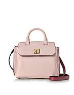 MCM Milla Park Avenue Small Crossbody in Pelle Pale Mauve - mcm - it.forzieri.com