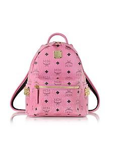 Pink Mini Stark Backpack - MCM