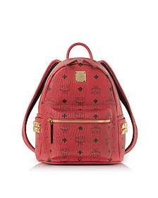 Red Mini Stark Backpack - MCM