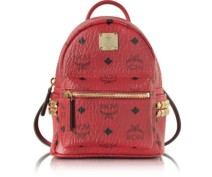Ruby Red X-Mini Stark Backpack - MCM
