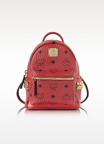 Ruby Red X-Mini Stark Backpack - MCM