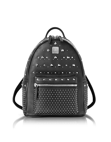 MCM - Black Small Special Stark Backpack