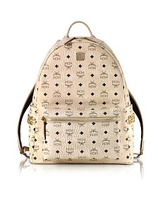 Beige Medium Stark Backpack - MCM