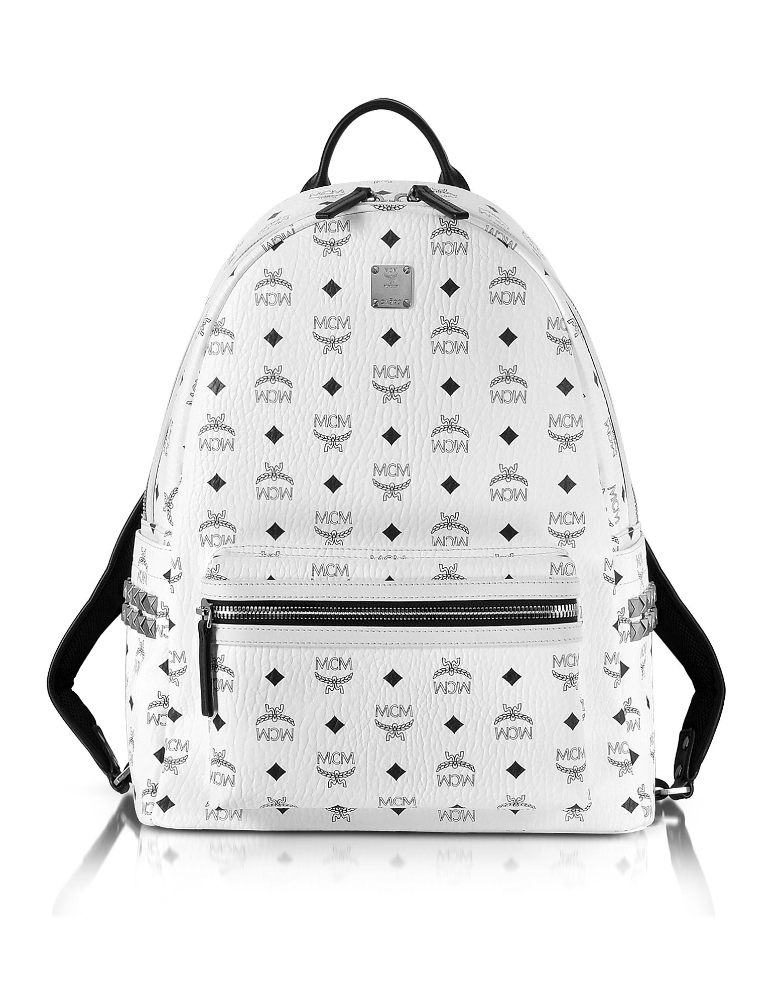 Фото Stark - Белый Рюкзак Среднего Размера. Купить с доставкой