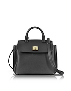 MCM Milla Park Avenue Small Crossbody in Pelle Nera - mcm - it.forzieri.com