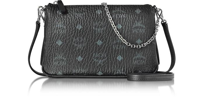 d45be492e057 Millie Visetos Crossbody Bag Medium Black | Stanford Center for ...