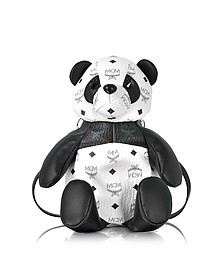 Black & White Panda Crossbody Bag - MCM