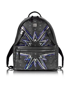 Black Medium D S Cyber Flash Backpack - MCM