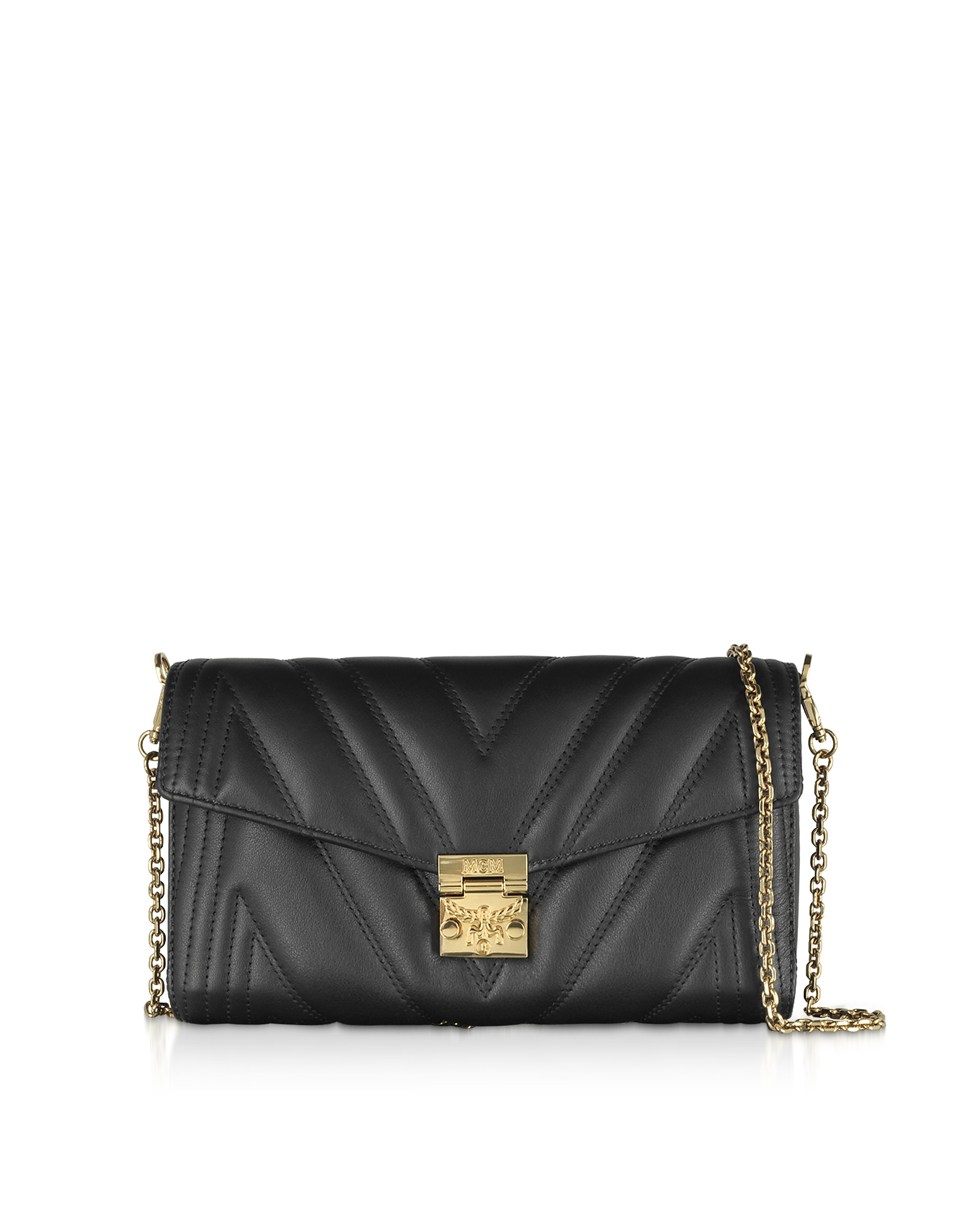 Quilted Leather Patricia Shoulder Bag