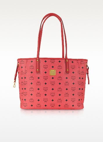 Shopper Project Visetos Reversible Medium Tote - MCM