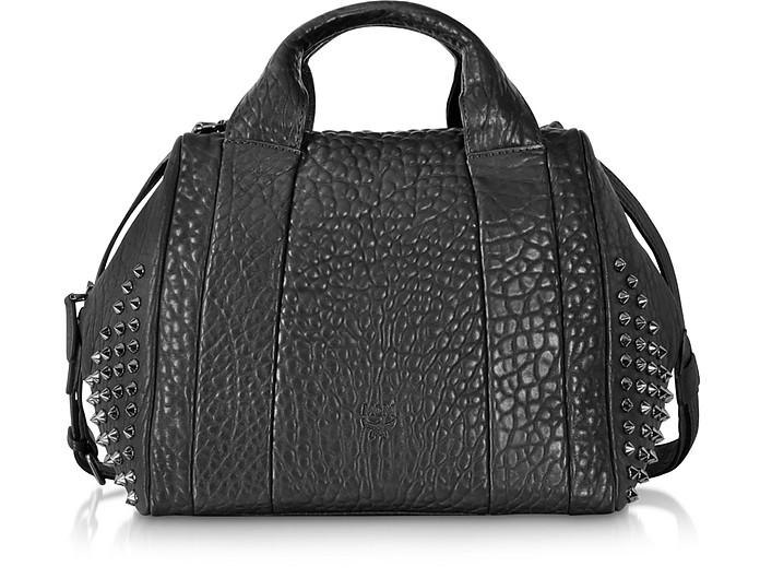 Keana Boston Medium Leather Handbag  - MCM