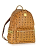 Cognac Medium Stark Backpack - MCM