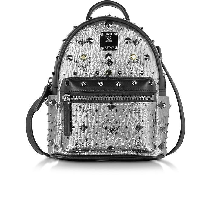 Silver Stark BeBe Boo Backpack - MCM