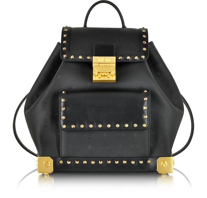 Berlin Black Small Backpack - MCM