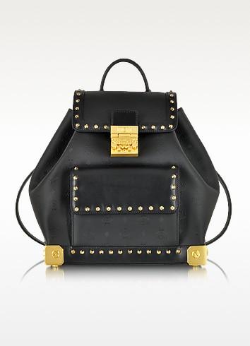 Berlin Black Small Backpack - MCM