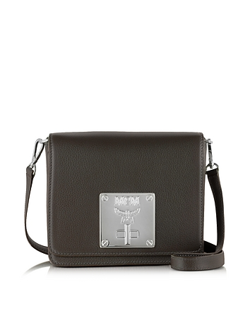 MCM - Mona Fango Leather Small Shoulder Bag