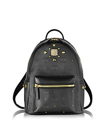 Stark Odeon Small Black Backpack - MCM