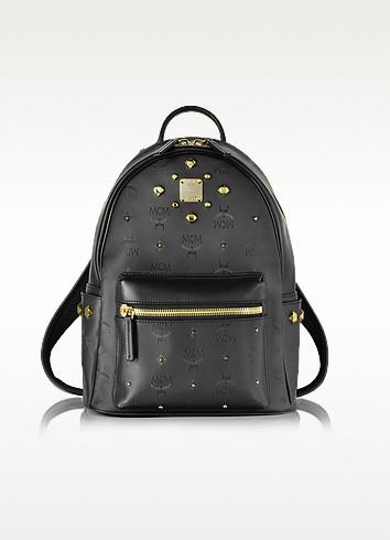 Stark Odeon Small Black Backpack - MCM