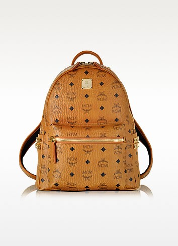 Stark Small Cognac Backpack - MCM
