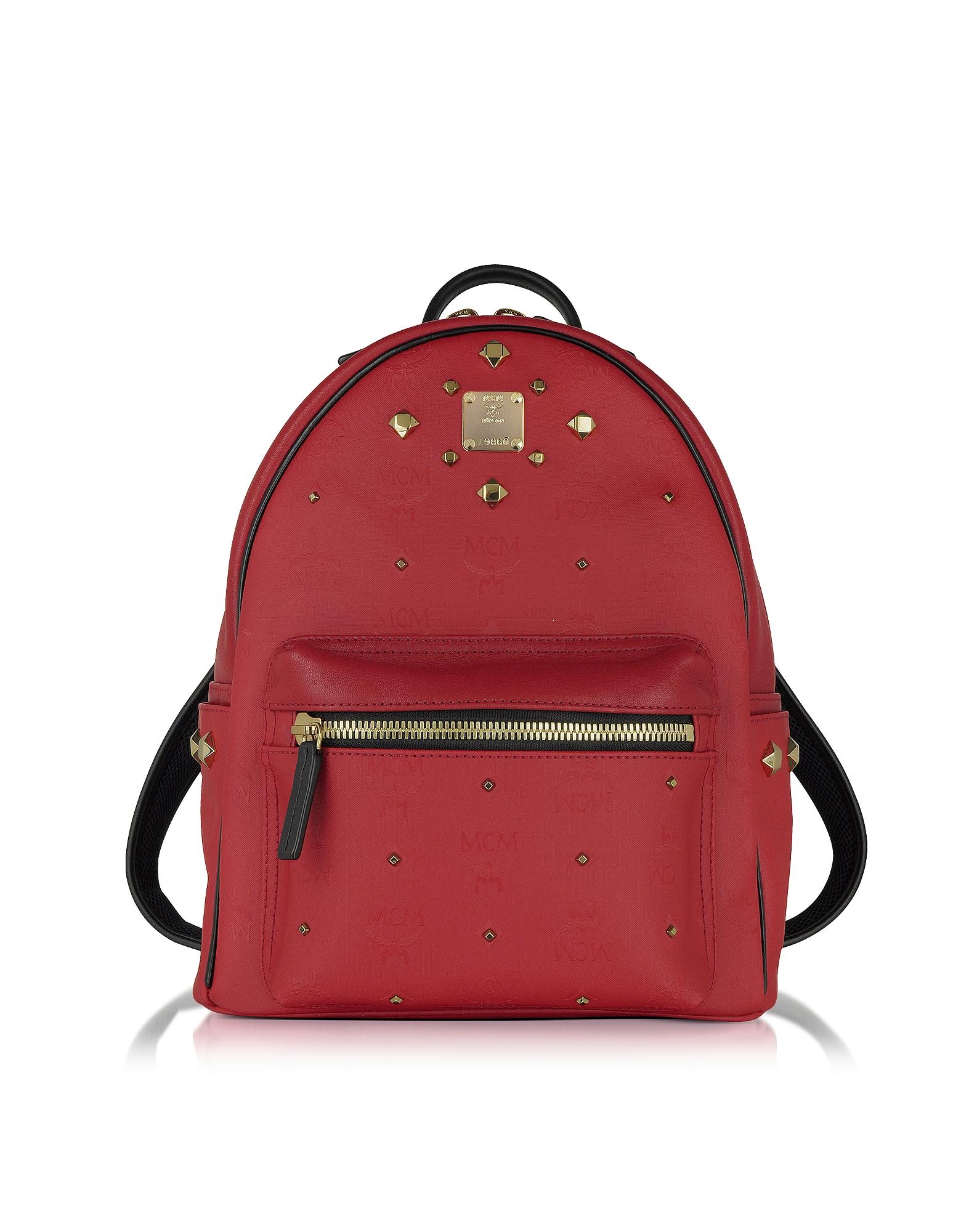 MCM Stark - Маленький Красный Рюкзак Odeon