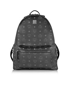 Black Stark Medium Backpack - MCM