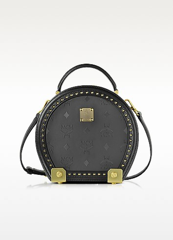 Berlin Black Hat Box Small Crossbody - MCM