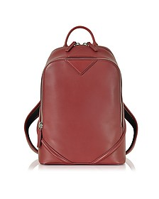 Duke Red Nappa Small Backpack - MCM
