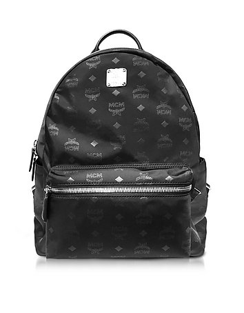 MCM - Dieter Monogrammed Nylon Medium Backpack