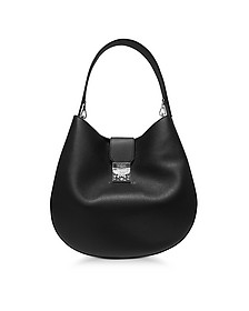 Patricia Park Avenue Large Black Leather Hobo Bag - MCM