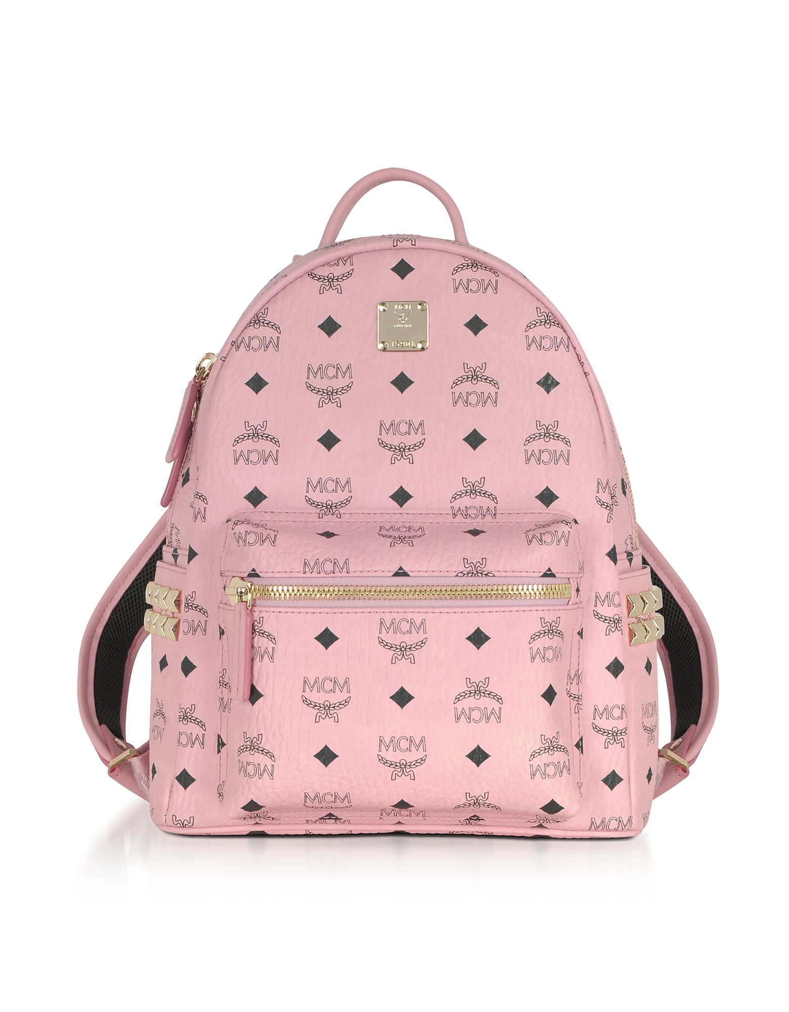 MCM Handbags, Soft Pink Small Stark Backpack