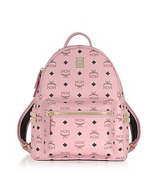 Soft Pink Small Stark Backpack - MCM