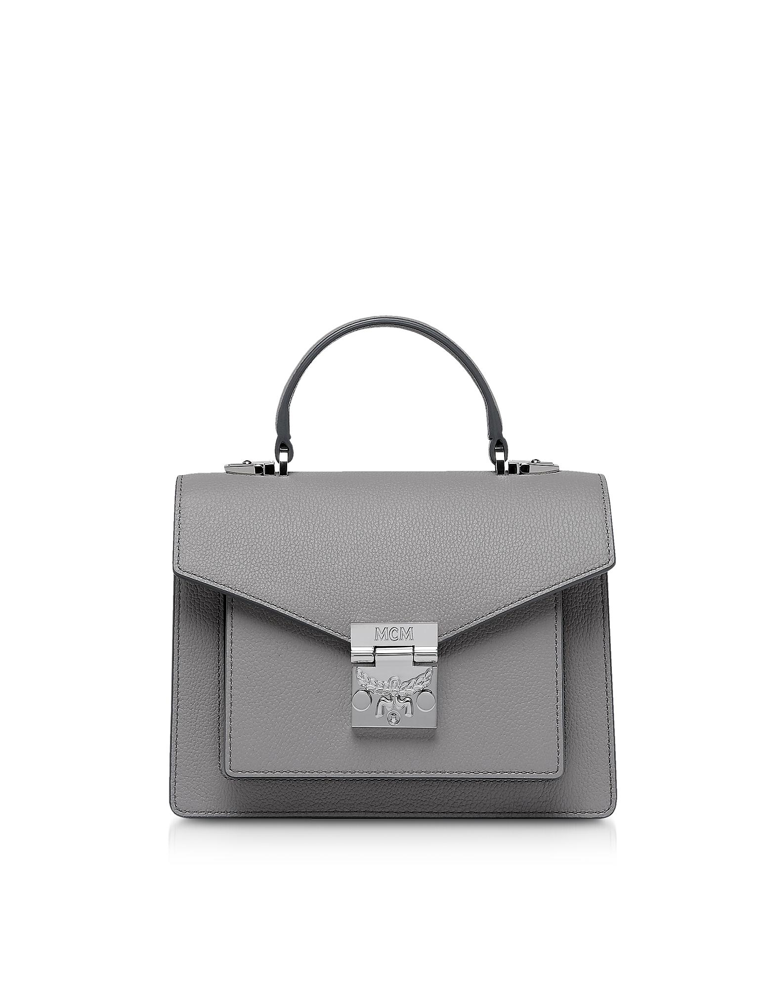 MCM Handbags, Patricia Park Avenue Small Satchel Bag