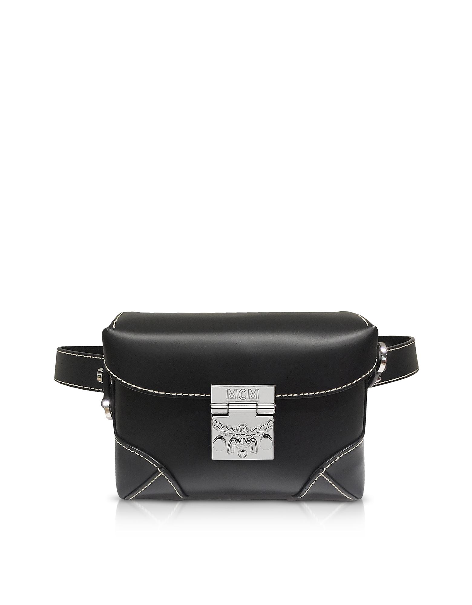 Black Soft Berlin Small Belt Bag