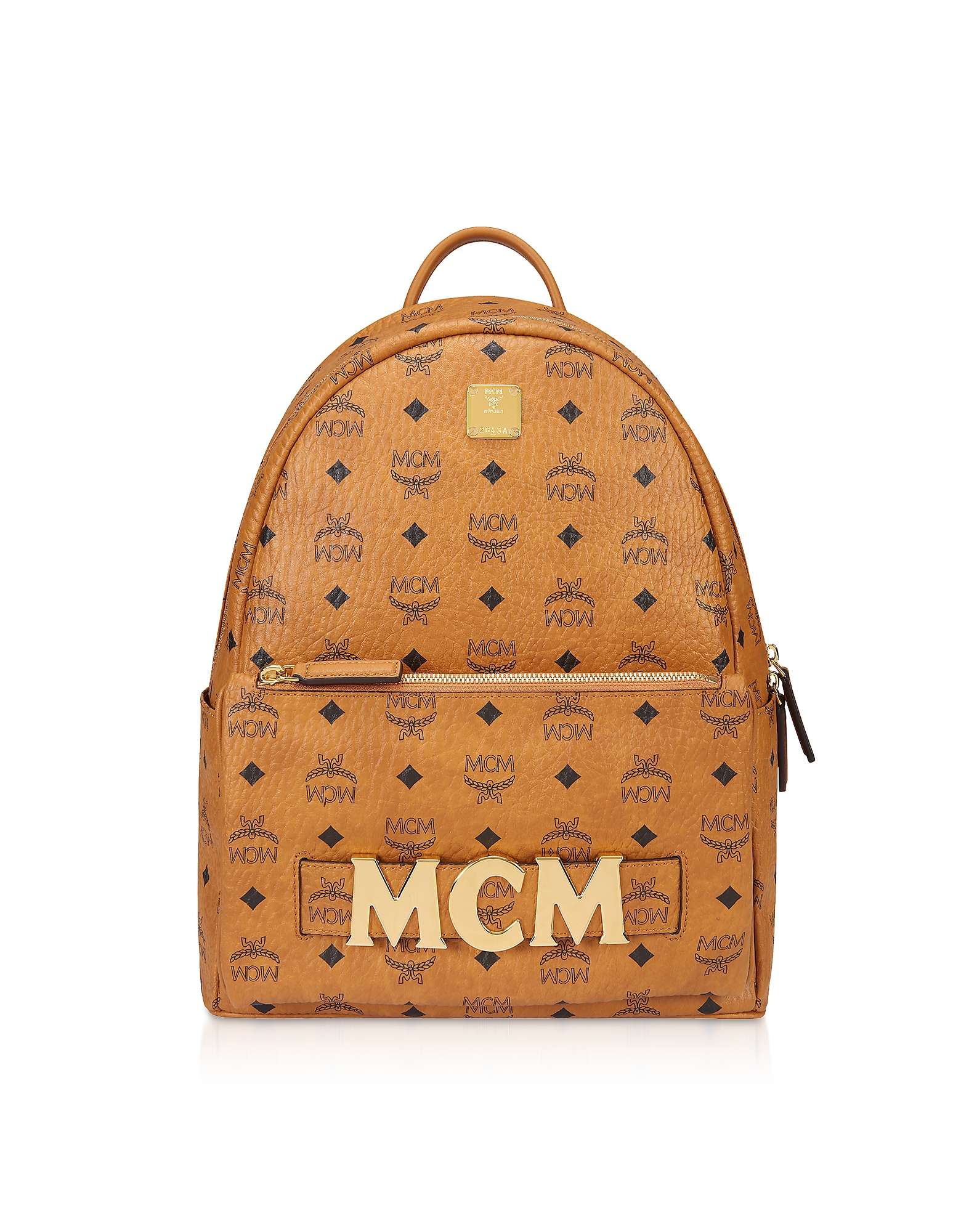 Cognac Trilogie Stark Small/Medium Backpack