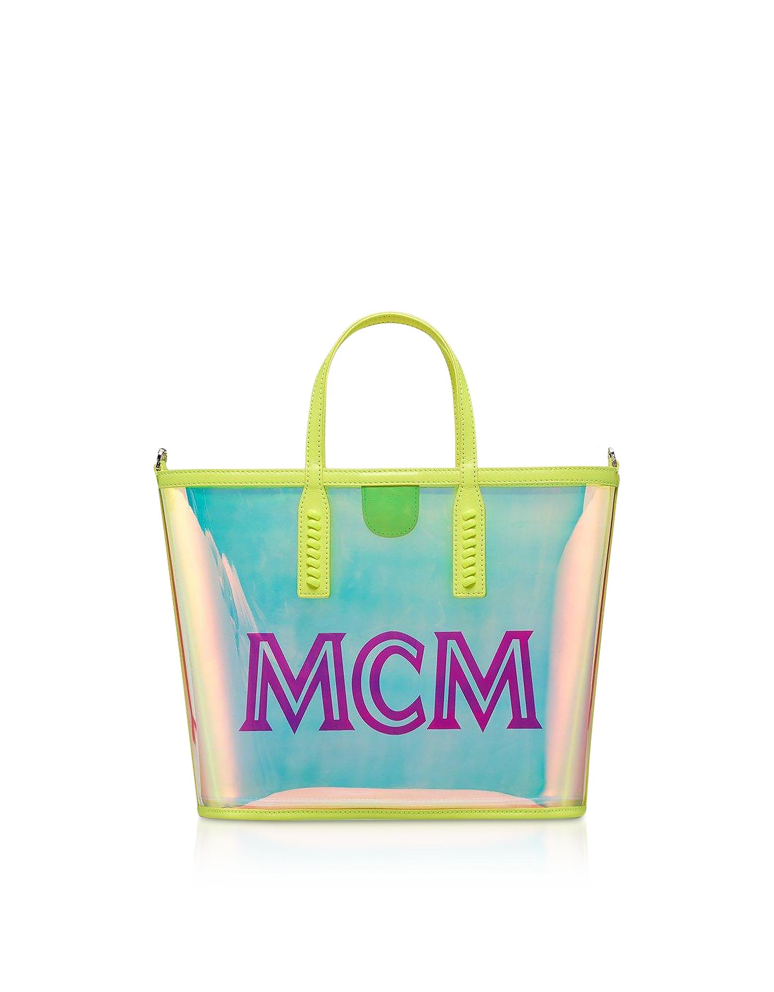 Hologram Small Flo Shopping Bag