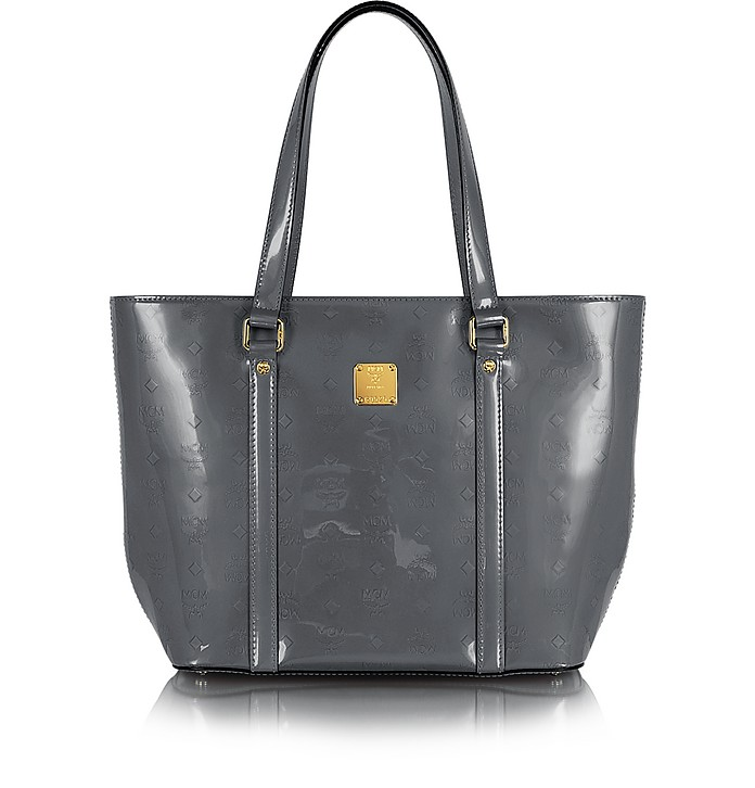 Ivana Patent Leather Large Tote - MCM