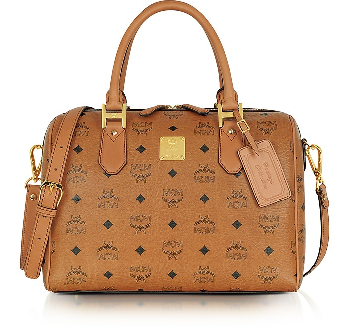 Heritage - Medium Boston Bag - MCM