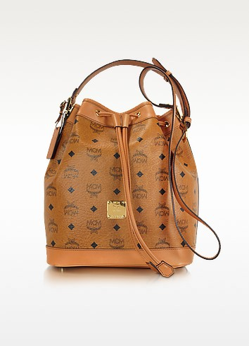 Heritage - Small Bucket Bag - MCM