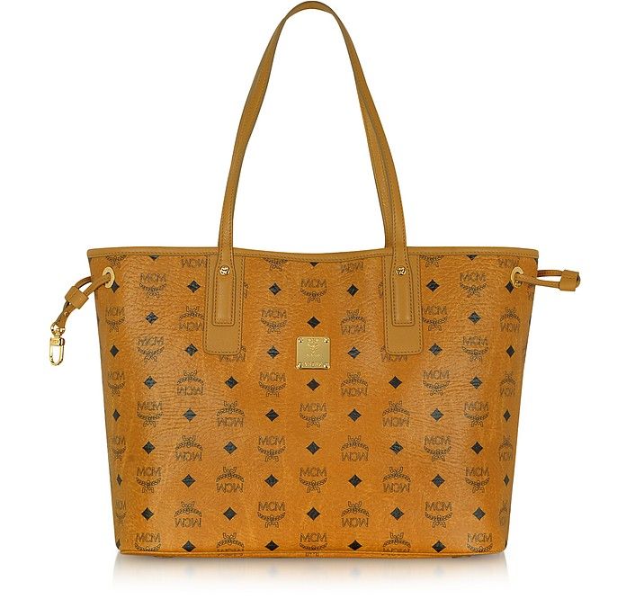 Shopper Project - Reversible Eco-Leather Tote - MCM